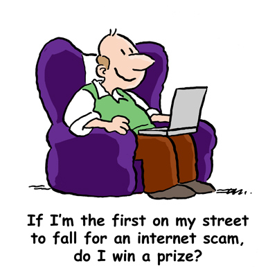 Internet Scam Victim