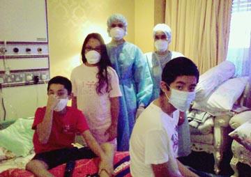 Keluarga Di Raja Pahang di HTAA
