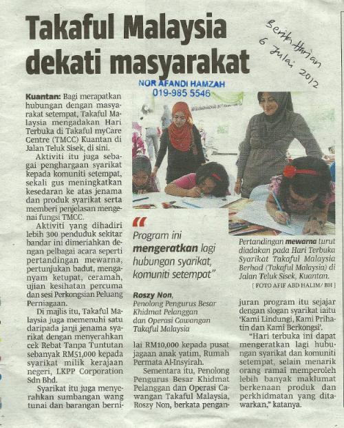 Rebat 15% Takaful Malaysia