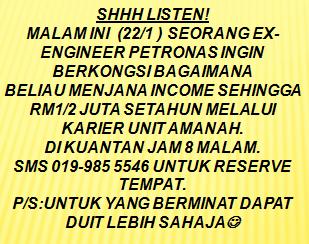 Seminar Karier Unit Amanah
